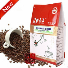 250g 100 High Quality New 2013 Coffee Beans DarkRoasted Cooked Beans Italian Espresso Coffee Beans Slimming
