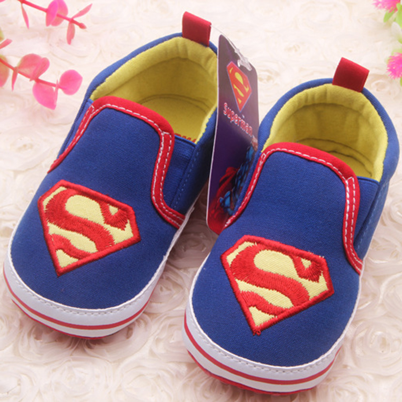 Baby Boys Shoes First Walkers Anti Slip Kids Shoes Cartoon Prewalker Soft Bottom Bebe Infant Shoes Baby Sports Sneakers Sapatos(China (Mainland))