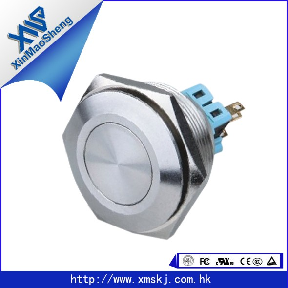 XMS Cheap Industrial Waterproof IP67 Button,Emergency Push Button Switch (dia:30mm) X30-211(China (Mainland))