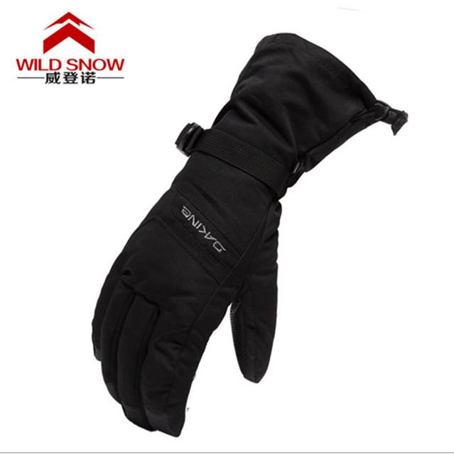 Высокое Качество Мужская Лыжные Перчатки Водонепроницаемый Дышащий Велоспорт Перчатки для Женщин и Мужчин Туризм Отдых Сноуборд Перчатки