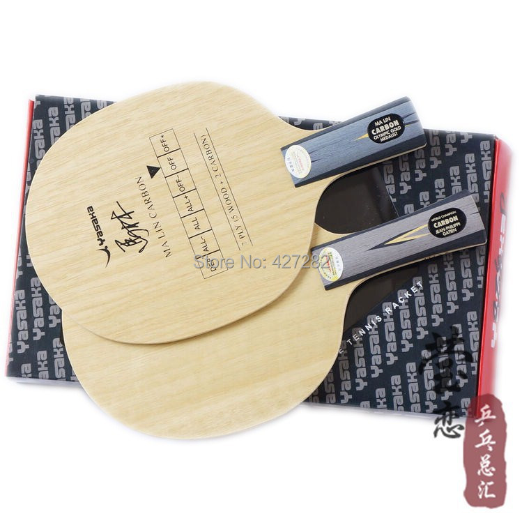 Original Yasaka YCA CARBON table tennis blade racquet sports table tennis rackets ma lin carbon blade racquet sports pingpong(China (Mainland))