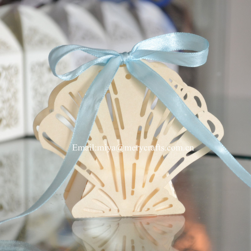 Aliexpress Buy 100pcs Lot Ivory Wedding Sweet Boxes Beach Favor Boxes From Reliable Box