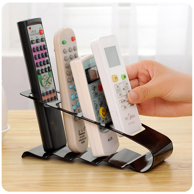 Tough Iron Fourfold Desktop Storage Rack TV Remote Control Air Conditioning Remote Controller Cellphone Receptacle Storage Box(China (Mainland))