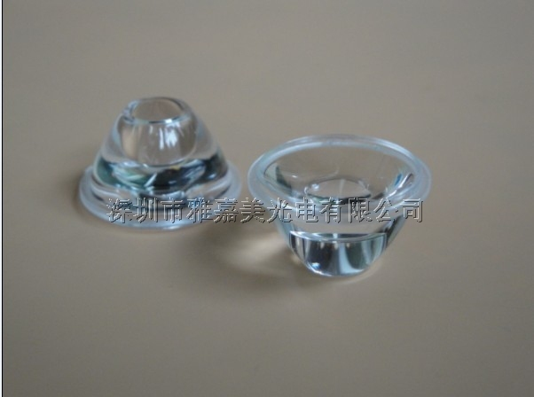 Led lens 20mm 20 deg Smooth surface, without holder, high power lens, Match with Luxeon SEOUL EDISON(China (Mainland))