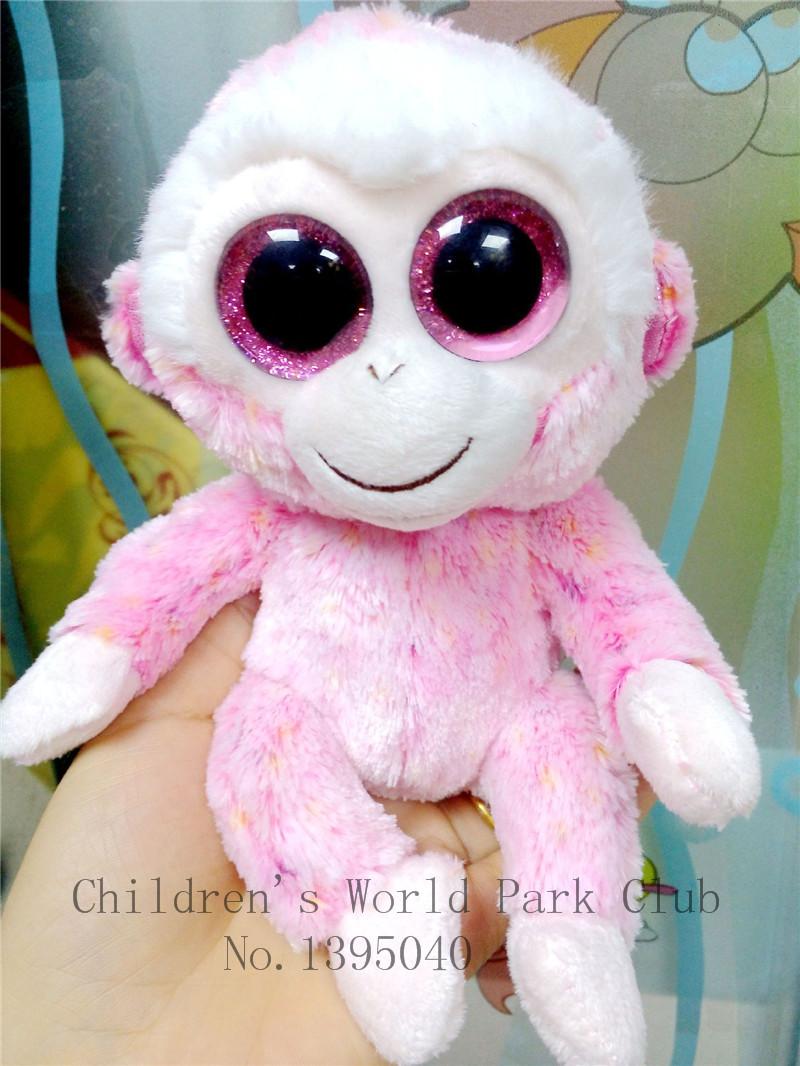 1pcs 28cm 2015 Hot Sale Ty Beanie Boos Big Eyes Husky Dog Plush Toy Doll Stuffed Animal Cute Plush Toy Kids Toy L24(China (Mainland))