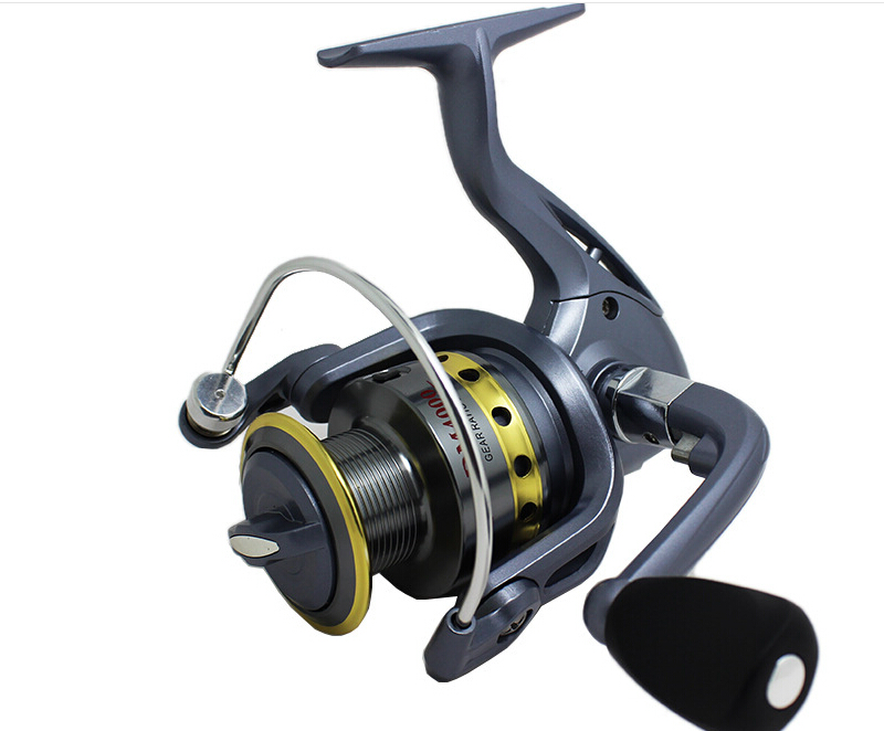 New metal 6bb cheap drum saltwater reel pesca ice fly for Saltwater fly fishing reels