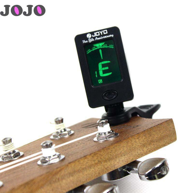 JT-001 LCD Display Guitar Tuner Mini Digital Bass Violin Ukelulu Guitar Tuner Clip On(China (Mainland))
