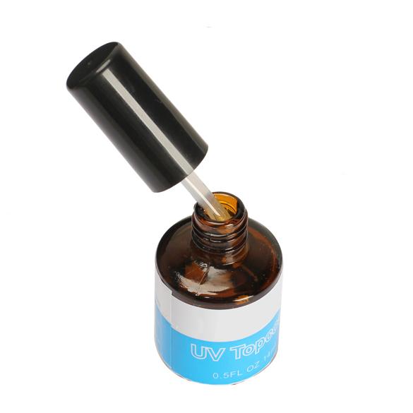 Professional Nail UV Gel UV Topcoat Top Coat Seal Glue Acrylic Nail Art Gel Polish Gloss Nails UV Glue(China (Mainland))