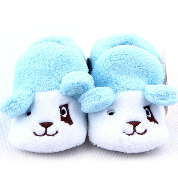 Top new winter cartoon rabbit lovely Animal Shape Soft Sole Warm Anti-slip baby girls Prewalker First Walkers Toddler Shoes 082(China (Mainland))