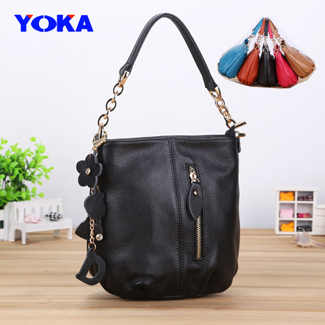 Hot handbag High grade genuine leather women shoulder bag,first layer cow fashion chain cross body messenger bag - KAYO Bag ( and OEM ! store)