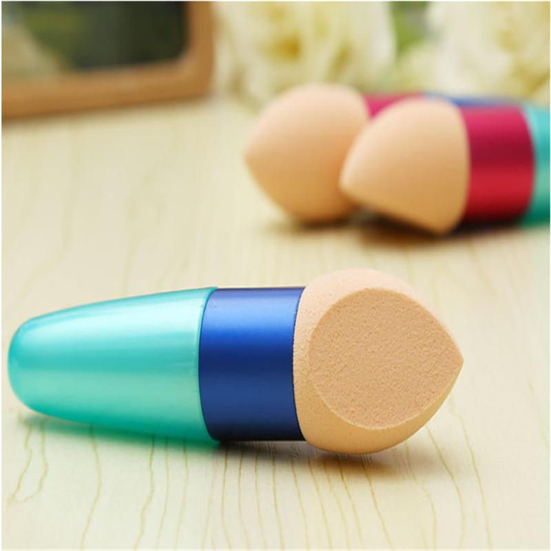Makeup Foundation Sponge Blender Blending Cosmetic Puff Flawless Powder Smooth bullet Puff Beauty Makeup Tool