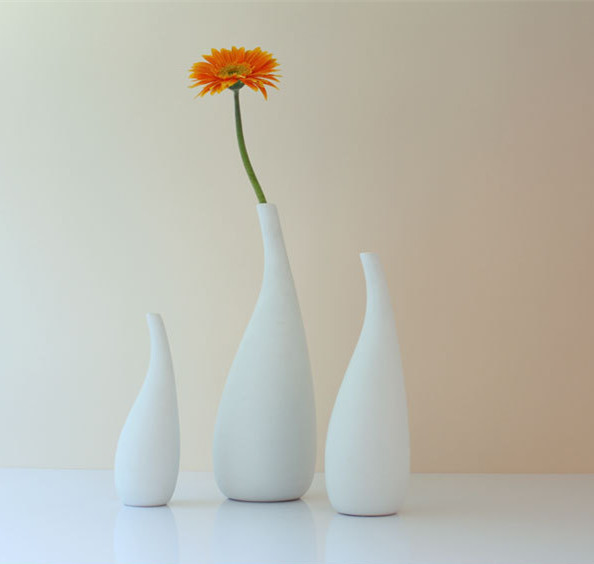 European pastoral style home decor vase american country living room white vase ceramic vase - European inspired home decor photos ...