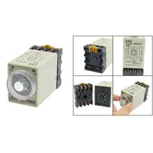 Personal style DC 12V 0-30 Seconds 30s Electric Delay Timer Timing Relay DPDT 8P w Base - Kitchen&Garden&Living Store store