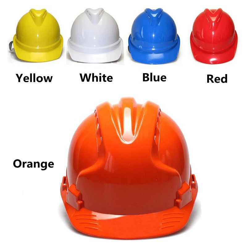 Import Raw Materials three ABS High Strength Reinforced Construction Site Safety Helmet Safety Helmet Protective Hat