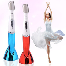 New Style Women Electric Eyebrow Body Face Bikini Underarms Legs Wet dry Washable Trimmer(China (Mainland))