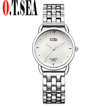 Buy Top O.T.SEA Brand Stainless Steel Bracelet Watches Women Ladies Dress Quartz Wristwatches Relogios Feminino 2120 for $3.79 in AliExpress store