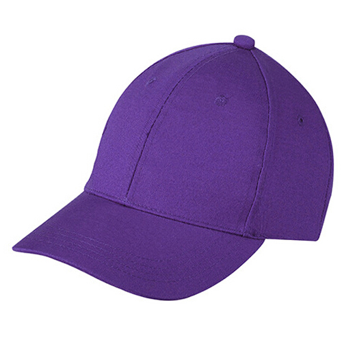 FGGS NEW Kids Plain Baseball Cap Girls Boys Junior Childrens Hat Summer-Deep Purple(China (Mainland))