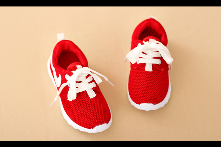 Children sneakers 2015 new boys and girls breathable running shoes / kids brand sneakers free shipping(China (Mainland))