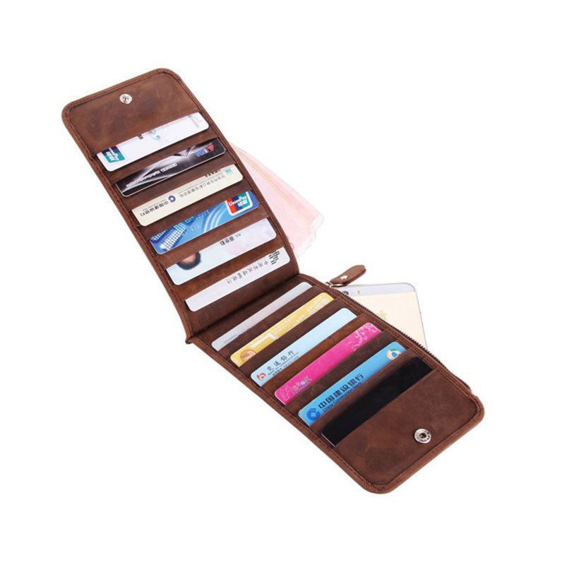 Genuine Leather 21 card slots Card Holder for Business Men and Women PR5S<br><br>Aliexpress
