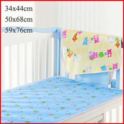 Waterproof Diaper Baby Underpads Cotton Mattress Changing Table Urine Mat Portable Stroller Baby Diaper Changing Crawling Mat(China (Mainland))