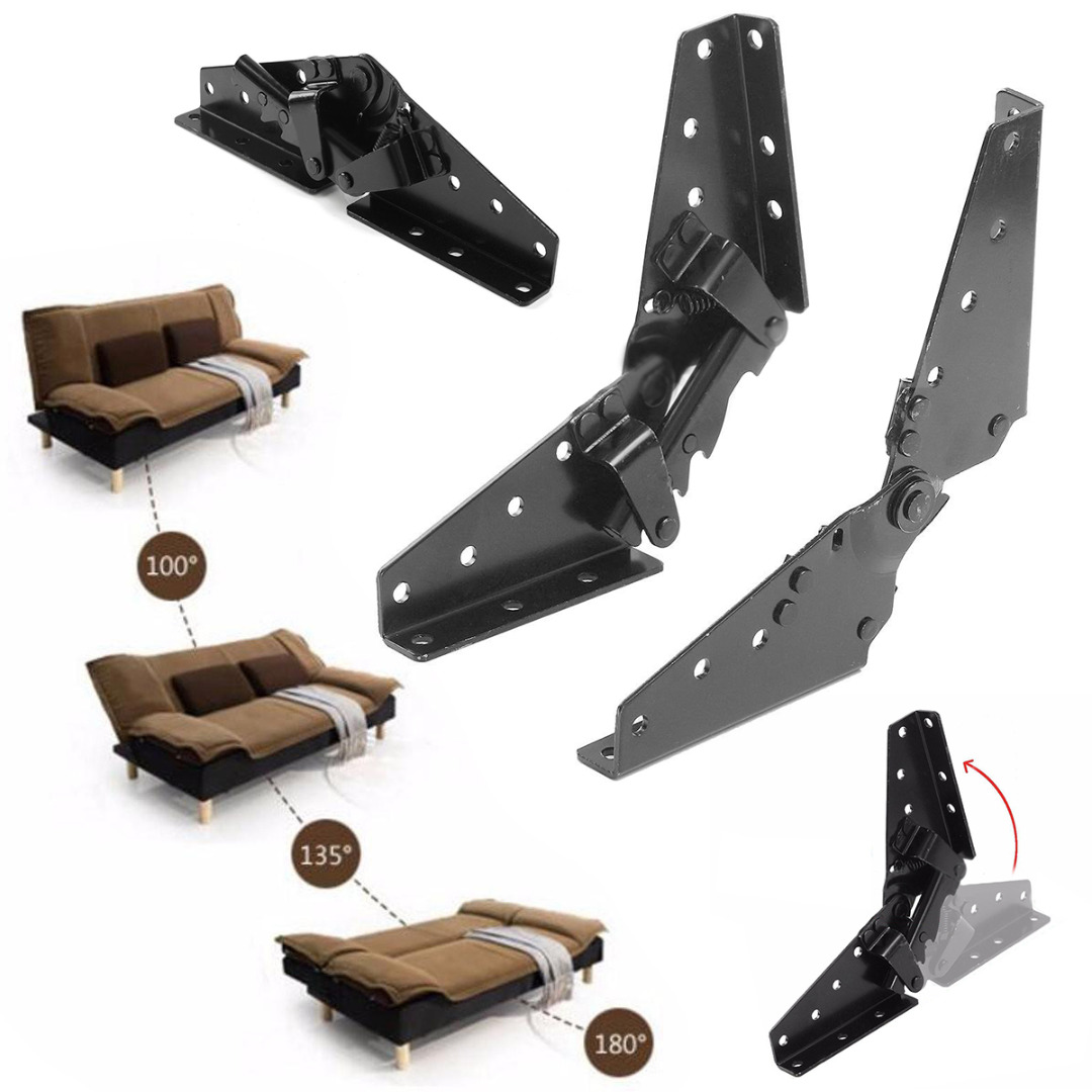Folded Sofa Bed Bedding Furniture Hinge 3-Position Angle Mechanism Hinges Hardware Tools(China (Mainland))