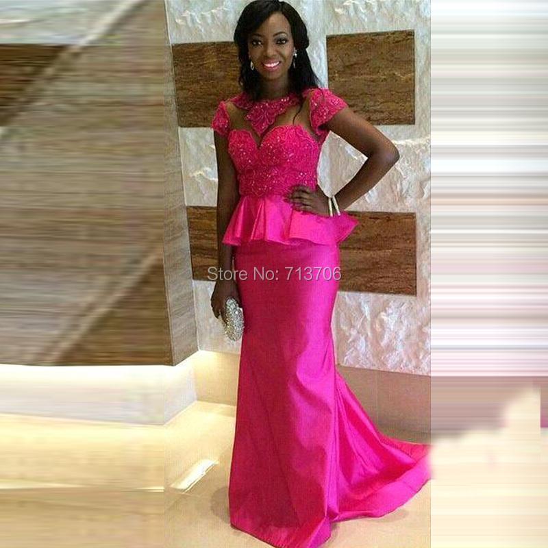 Robe de soir e africaine pour mariage for Robe formelle pour mariage plus la taille