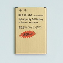 3.85 В 3800 mah перезаряжаемый золото аккумулятор для LG G4 BL-51YF H818 H819 F500S F500K F500L аккумулятор