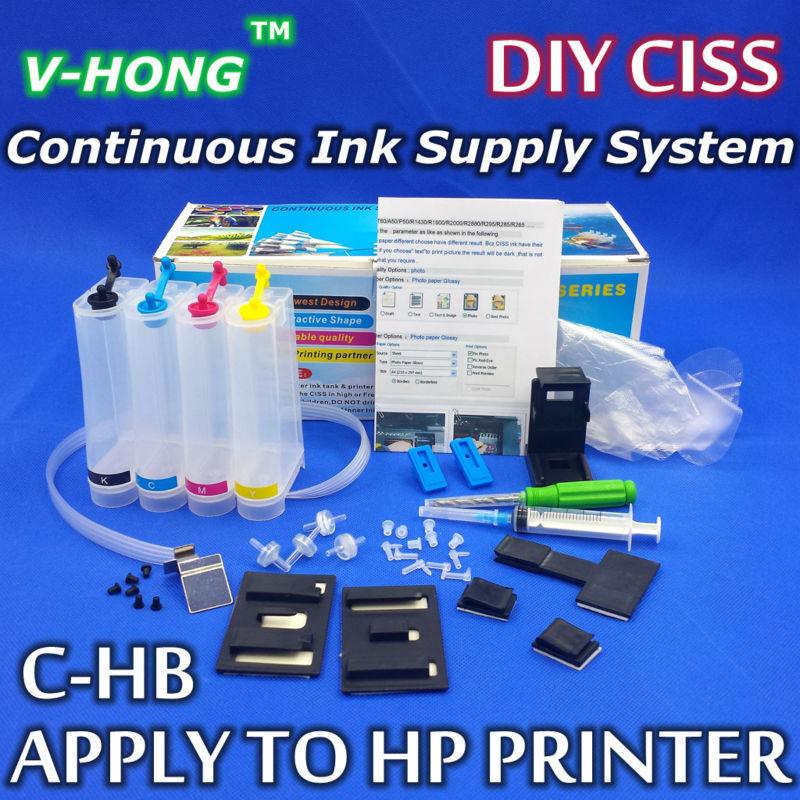 Гаджет  CISS ink tank for Cartridge 21/22 816/817 901 802 60 61 74/75 122 818 350/351Continuous Ink Supply System DIY ciss ink system None Компьютер & сеть