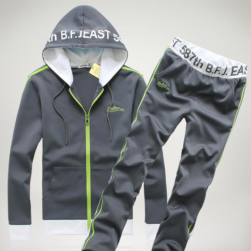 Luxury Tracksuit Men Winter Tracksuits Hooded Male Hoodies Men Sport Suits Jacket Jogging Pants and Sweatshirt Set Hoodie Mens