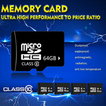 Wholesale Memory Card 64gb32gb16gb8gb4gb  Calss10&Class 6 Micro SD Card  SD Adapter(gift)  mini sd card  for cell phones tablet(China (Mainland))