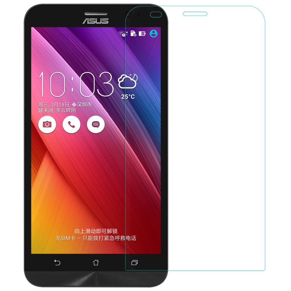 "Nillkin H Anti-burst Tempered Glass for ASUS ZenFone 2 ZE551ML ZE550ML 5.5"" Inch Screen Protector 0.33 9H Glass Screen Guard(China (Mainland))"