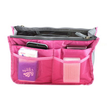 1pcs Lady Women Insert Handbag Organiser Purse Large liner Organizer Bag Tidy TravelBrand New