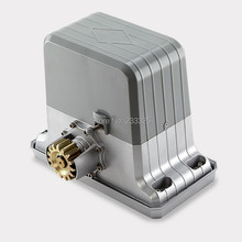 heady duty 3600lbs 1800kg electric sliding gate motors/automatic gate opener engine with 2 remote controllers(China (Mainland))