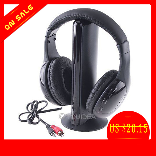 Наушники 5 1 5 en1 Sans Fil Ecouteur hi/fi FM TV MP3 MP4 Neuf 80215 2016 superior quality mosunx 5in1 wireless headphone casque audio sans fil ecouteur hi fi radio fm tv mp3 mp4 au19