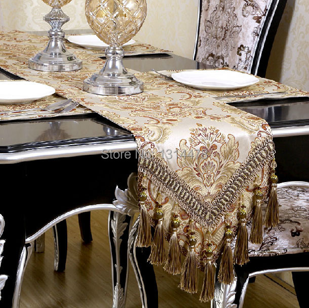 Table runner\ European style table runner\ table cloth\ palace style table runners\ Color jacquard(China (Mainland))