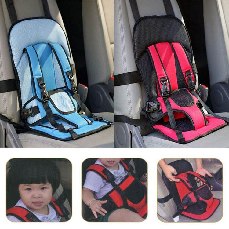 Portable Baby/Kids/Children Car Carrier Safety Seat cover Cushion Mesh harness - happy-365 store