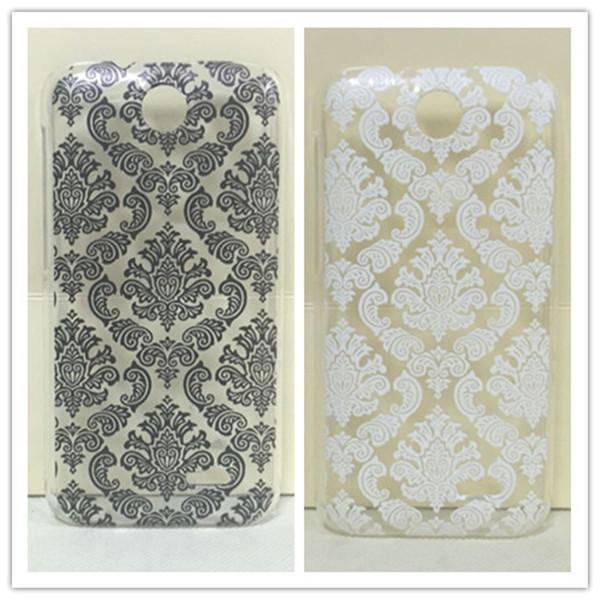 Vintage Paisley Flower Hard Floral Plastic Skin Cover Case For HTC Desire 310 Desire D310W drop shipping(China (Mainland))