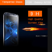Note2 N7100 Premium Tempered Glass Screen Protector Film for Samsung Galaxy N7100 Note II 2 Front Screen Protective Guard(China (Mainland))