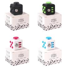 Size 3.3*3.3cm Fidget Cube a Vinyl Desk Toy Anti-Irritability Magic Cubes Stress Relief Toys Gifts For Boys girls(China (Mainland))
