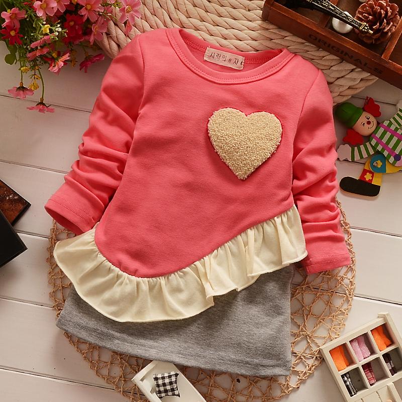 Wholesale Free Shipping 2014 Supernova Sale Baby Girls Dresses Children Clothing Love Dress
