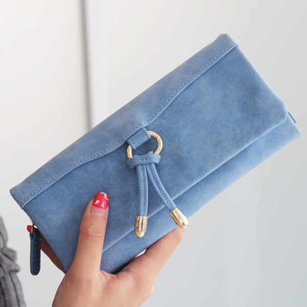Hot Sale Women Wallet Fashion 4 Colors Carteira Delicate PU Lether Tassel Change Purse Popular Solid Lady Style Women Coin Purse<br><br>Aliexpress