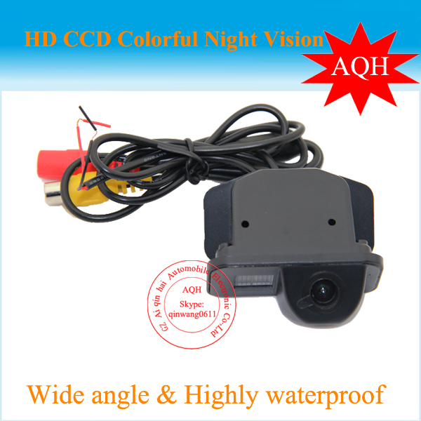 HD For Toyota Avensis T25 T27 car reversing rear view camera backup auto reverse camera system with parking line water proof(China (Mainland))