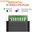 Original launch golo lite M Diag Plus for iOS Android Built in Bluetooth OBDII with