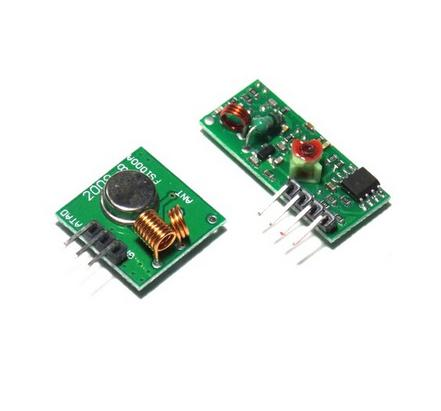 10 Lot 433Mhz RF Transmitter With Receiver Kit For Arduino ARM MCU Wireless(China (Mainland))