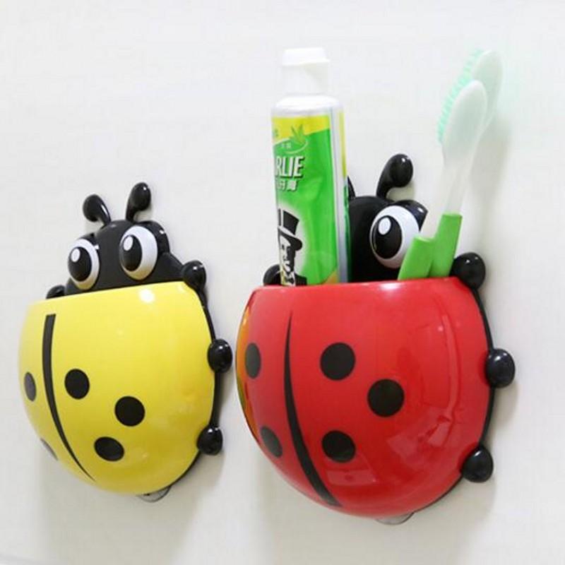 Household Goods Creative Powerful Suction Toothpaste Toothbrush Travel Toothbrush Shelf Storage Management Fashion(China (Mainland))