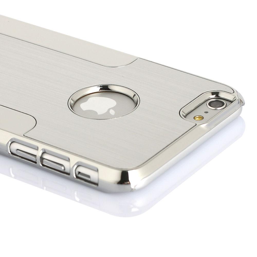"Aluminum Ultra-thin Metal Case Bumper Cover Skin For Apple iPhone 6 plus 5.5"" Silver Metal Bumper(China (Mainland))"