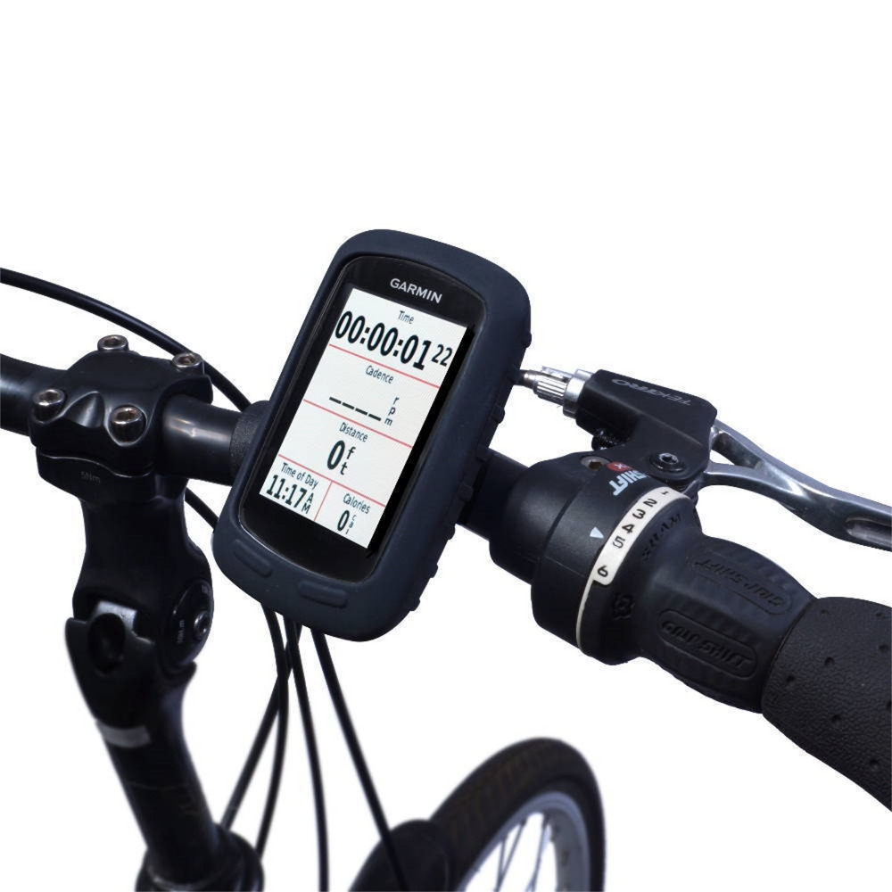 Silicone Gel Skin Case Cover for Garmin Edge 510 GPS Cycling Computer(China (Mainland))