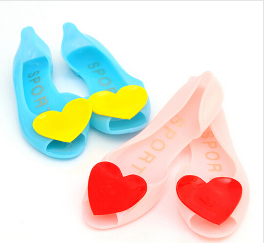 casual New 2015 love heart fashion fish mouth sandals women shoes beach jelly candy soft rubber flat rain woman B1004 - Eye 2 Fashion CO., Ltd store