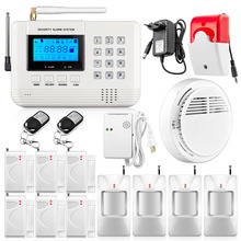 Buy Free Home Wireless GSM PSTN Alarm System Intelligent Home Security PSTN Alarm System Smoke Sensor Gas Sensor for $83.45 in AliExpress store