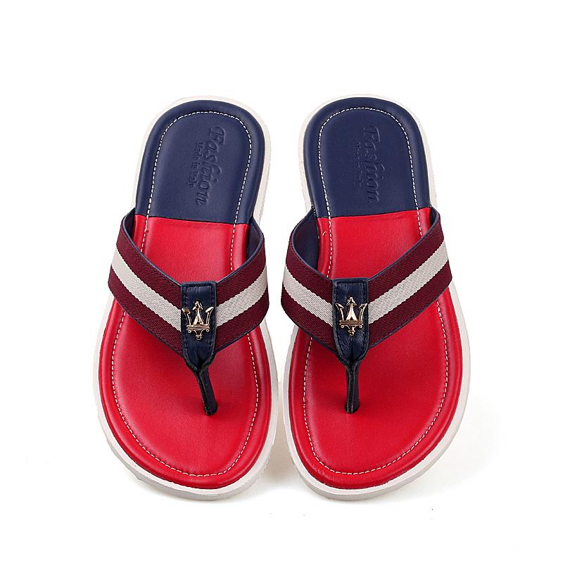 Summer Beach Massage Flip Flops Shoes Men Rubber Men Sandals Top Quality Male Slipper,Indoor & Outdoor Flip-flops(China (Mainland))